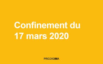 Confinement du 17 mars 2020